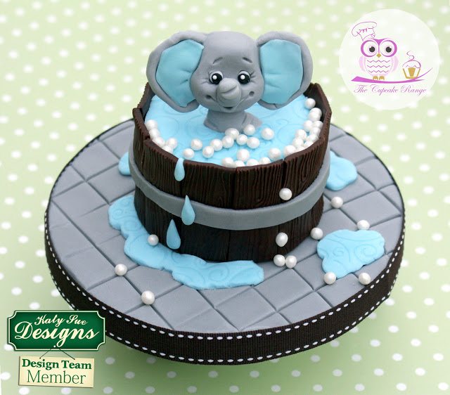 How to: Baby Elephant Bath Time Fun Cake with Sarah Harris from the Cupcake Range – Part 1