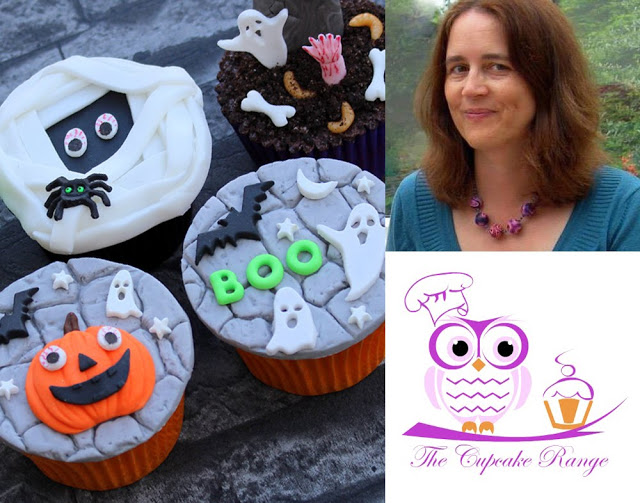 Halloween Cupcake Inspiration by Sarah Harris