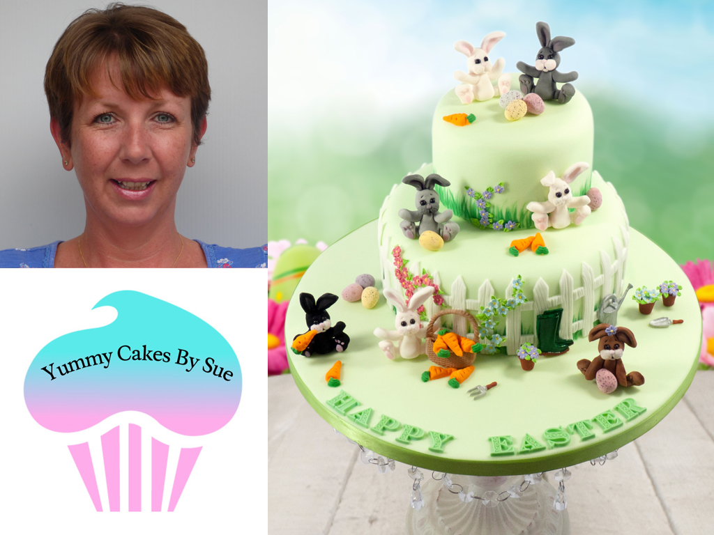 Fun Easter Cake Decorating Project by Sue Pinnick