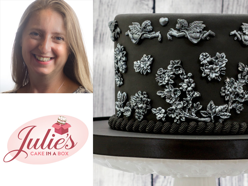 Silver-and-Black-Bas-Relief-Cake-by-Julie-Rogerson