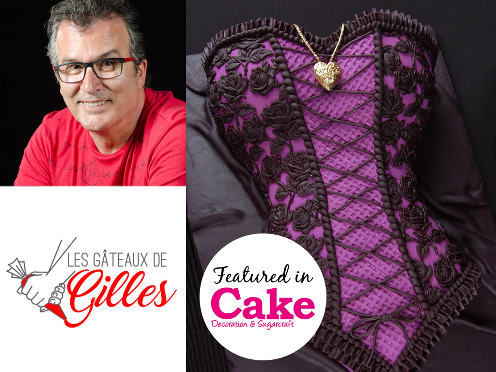 Corset Cake Featured in Cake Decoration & Sugarcraft Magazine